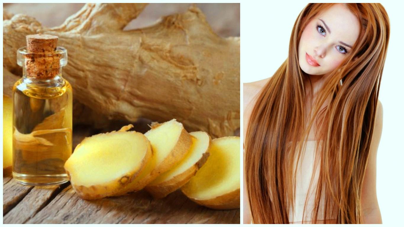 Имбирное масло для волос в домашних условиях